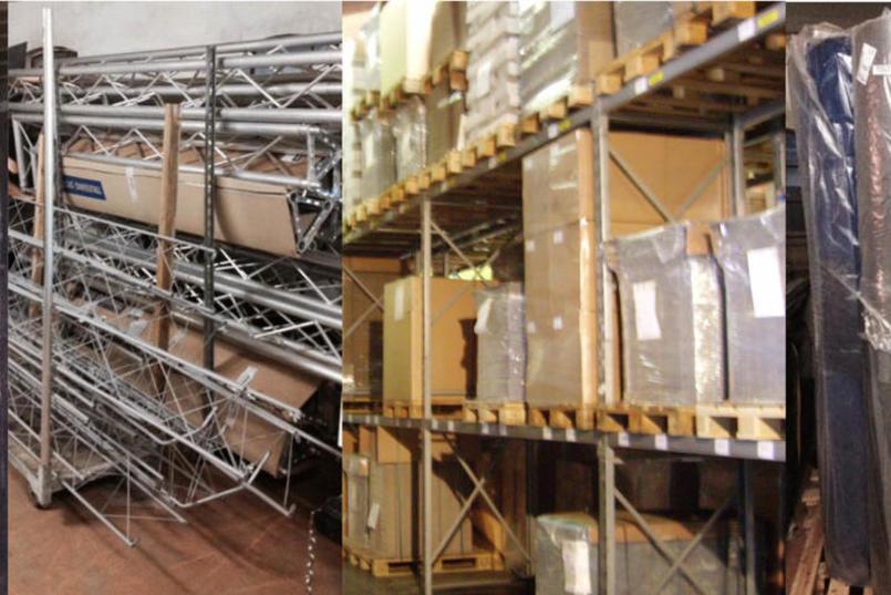 Messebyg tilbyder professionelt lagerhotel - din sikkerhed